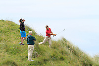 Declan Loftus (Castlebar) on the 11th during Round 3 of The South of Ireland in Lahinch Golf Club on Monday 28th July 2014.<br /> Picture:  Thos Caffrey / www.golffile.ie