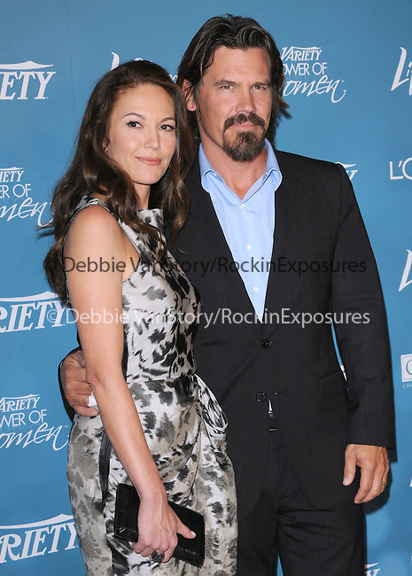 Diane Lane Brolin & Josh Brolin at Variety's 2nd Annual Power of Women Luncheon held at The Beverly Hills Hotel in Beverly Hills, California on September 30,2010                                                                               © 2010 Hollywood Press Agency