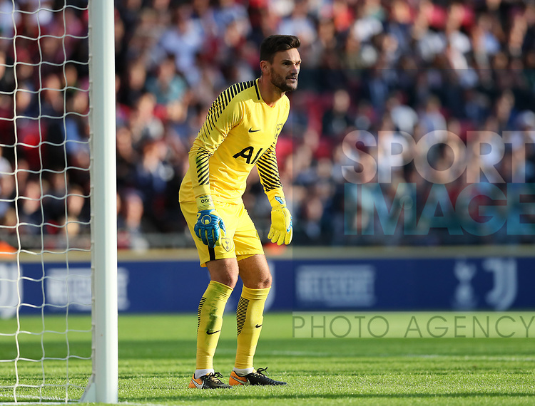 Tottenham's Hugo Lloris in action during the pre season match at Wembley Stadium, London. Picture date 5th August 2017. Picture credit should read: David Klein/Sportimage