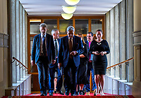 NZ Deputy Prime Minister Winston Peters. Members of the NZ Parliament pay tribute to Christchurch terror attack victims at Parliament in Wellington, New Zealand on Monday, 18 March 2019. Photo: Dave Lintott / lintottphoto.co.nz