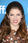 Anna Kendrick during the Photo Call for 'Cake' at the the tiff Bell Lightbox during the 2014 Toronto International Film Festival on September 9, 2014 in Toronto, Canada.