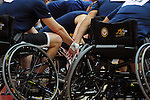 May 20, 2011 Colorado Springs, CO.  Navy/Coast Guard wheelchair basketball during the 2011 Warrior Games  at the U.S. U.S. Olympic Training Center, Colorado Springs, CO...