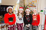 At the Moyderwell Primary School  Christmas Concert on Monday were Toby Obadina, Lauren Doody, Moly Duggan, Aibhlinn O'Connor McCarthy