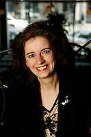 March 2005, Montreal (Qc) CANADA<br /> EXCLUSIVE PHOTO of Lorraine Desmarais, Jazz Pianist<br /> Photo : (c) 2003 by Pierre Roussel/ Images Distribution