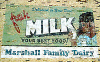 Vintage Retro Milk Ad Durham North Carolina USA By Jonathan Green Celebrity Photography USA