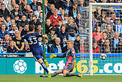 30th September 2017, The John Smiths Stadium, Huddersfield, England; EPL Premier League football, Huddersfield Town versus Tottenham Hotspur; Ben Davies of Tottenham Hotspur FC scores in the 16th minute to make it 2-0