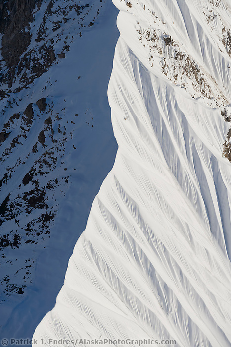 Pioneer Ridge is a long, serrated knife-edge that stretches from Denali's North Face.