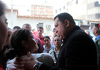 President Chavez announces his candidacy for Presidential - Venezuela