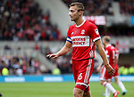 Ben Gibson of Middlesbrough during the Sky Bet Championship match at the Riverside Stadium, Middlesbrough. Picture date: August 12th 2017. Picture credit should read: Jamie Tyerman/Sportimage