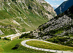 The peloton descending during Stage 11 of the 2018 Tour de France running 108.5km from Albertville to La Rosiere Espace San Bernardo, France. 18th July 2018. <br /> Picture: ASO/Alex Broadway   Cyclefile<br /> All photos usage must carry mandatory copyright credit (&copy; Cyclefile   ASO/Alex Broadway)