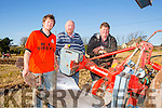At the Annual Ploughing Match in Ballyheigue,  held in the Rectory Field, Flahive Family on Sunday were l-r  Richard O'Mahony, Liam O'Mahony and Christy O'Mahony all from Ballyheigue