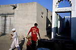 Outside a mosque in the port city of Gwadar.