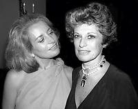 Barbara Walters Marion Javits 1978<br /> CAP/MPI/PHL/AC<br /> &copy;AC/PHL/MPI/Capital Pictures