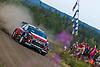 Khalid AL QASSIMI (UAE)-Chris PATTERSON (GBR), CITROEN DS3 WRC #12, FINLAND RALLY 2018