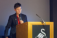 Pictured: Professor Laura McAllister. Thursday 29 November 2018<br /> Re: Swansea City Business Network event at the Liberty Stadium, Wales, UK.