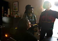 """Behind the scenes of """"Whats in a Name"""" a dokumentary directed by Runyararo Mapfumo, DOP Micahel Vince Kim.  filmed in Forest Gate, East London. Part of the Uncertain Kingdom Project concieved of by John Jencks"""