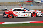 John Edwards (57), Driver of Stevenson Motorsports Camaro GT.R in action during the Grand-Am of the Americas practice and qualifying sessions at the Circuit of the Americas race track in Austin,Texas...