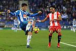 League Santander 2017-2018 - Game: 15.<br /> RCD Espanyol vs Girona FC: 0-1.<br /> Gerard Moreno vs Mojica.