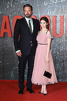 "Ben Affleck and Anna Kendrick<br /> at the premiere of ""The Accountant"" at the Empire Leicester Square, London.<br /> <br /> <br /> ©Ash Knotek  D3183  17/10/2016"