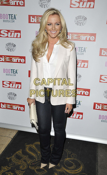 LONDON, ENGLAND - MARCH 02: Michelle Mone attends the Sun's Bizarre column 1st annual party, Steam &amp; Rye bar &amp; restaurant, Leadenhall St., on Monday March 02, 2015 in London, England, UK. <br /> CAP/CAN<br /> &copy;CAN/Capital Pictures