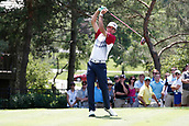 4th June 2017, Dublin, OH, USA;  Bubba Watson tees off on the second hole during the Memorial Tournament - Final Round at Muirfield Village Golf Club in Dublin, Ohio