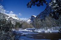 Half Dome located in Yosemite National Park, California