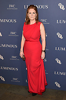 Sarah Ferguson<br /> arriving for the LUMINOUS Gala 2019 at the Roundhouse Camden, London<br /> <br /> ©Ash Knotek  D3522 01/10/2019