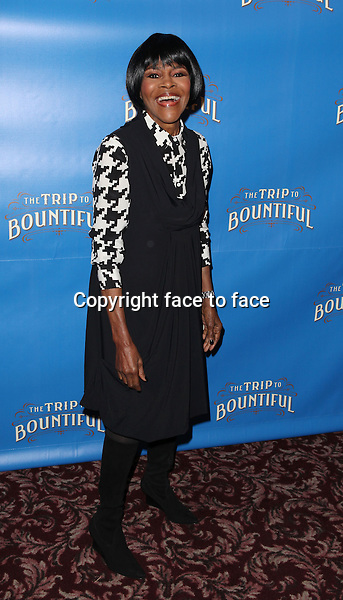 "Cicely Tyson attending the Meet & Greet the cast of ""The Trip To Bountiful"" at Sardi's Restaurant in New York City on 3/11/2013...Credit: McBride/face to face"