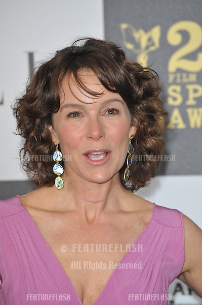 Jennifer Grey at the 25th Anniversary Film Independent Spirit Awards at the L.A. Live Event Deck in downtown Los Angeles..March 5, 2010  Los Angeles, CA.Picture: Paul Smith / Featureflash