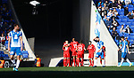 Vazquez scoring the first goal, RCD Espanyol 0 v 2 Sevilla FC, Jornada 20, RCDE Stadium, La Liga Santander 2017/2018. Barcelona. Photo Martin Seras Lima