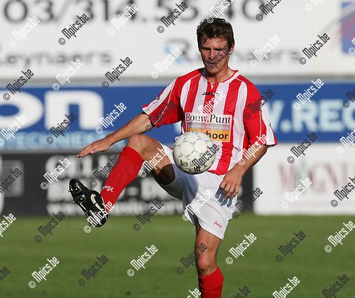 2008-07-19 / Voetbal / seizoen 2008-2009 / Hoogstraten VV / Koen Gommers..Foto: Maarten Straetemans (SMB)