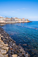 Ortigia Island in the Meditteranean Sea at Syracuse (Siracusa), Sicily, Italy, Europe. This is a photo of Ortigia Island in the Meditteranean Sea at Syracuse (Siracusa), Sicily, Italy, Europe.