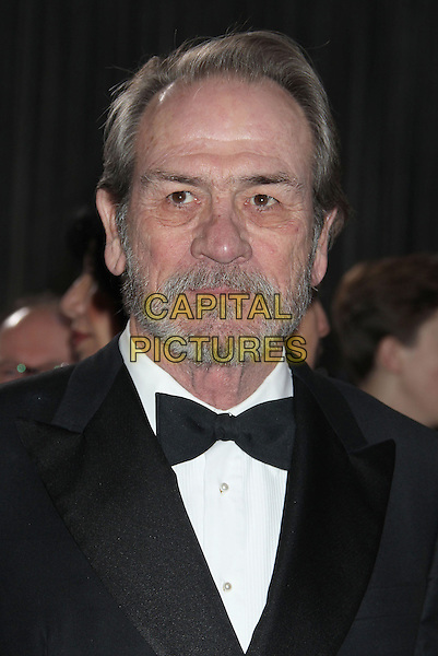 Tommy Lee Jones.85th Annual Academy Awards held at the Dolby Theatre at Hollywood & Highland Center, Hollywood, California, USA..February 24th, 2013.oscars headshot portrait black tuxedo white shirt bow tie beard facial hair .CAP/ADM/RE.©Russ Elliot/AdMedia/Capital Pictures.