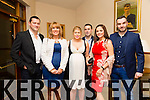 Ger O Brien, Vivian O Shea, Kelly Ann Rountry, John O Connor, Maura O Connor and Gary O Shea enjoying the Kerins O Rahillys Social at Kerins O Rahillys GAA Clubhouse on Saturday