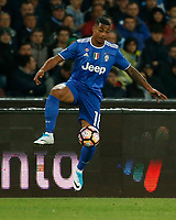 Mario Lemina  during the  italian serie a soccer match,between SSC Napoli and Juventus       at  the San  Paolo   stadium in Naples  Italy , April 02, 2017