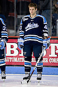 Brett Carriere (Maine - 40) - The Boston University Terriers defeated the University of Maine Black Bears 1-0 (OT) on Saturday, February 16, 2008 at Agganis Arena in Boston, Massachusetts.