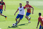Koke Resurrecion during training of the spanish national football team in the city of football of Las Rozas in Madrid, Spain. August 30, 2017. (ALTERPHOTOS/Rodrigo Jimenez)