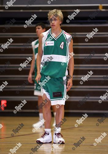 2008-09-09 / Basketbal / Gembo / T. Verrept..Foto: Maarten Straetemans (SMB)