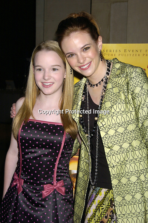 Kay And Danielle Panabaker At A Screening Of An HBO Film Empire Falls