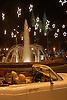white luxury limousine in front of the christmas decorated fountain at the Plaza de la Reina with cathedral La Seu in background<br /> <br /> limousina blanca delante de la fuente decorada de navidad con la catedral La Seu en el fondo<br /> <br /> wei&szlig;e Luxuslimousine vor dem weihnachtlich geschm&uuml;ckten Brunnen der Plaza de la Reina mit der Kathedrale La Seu im Hintergrund<br /> <br /> 3008 x 2000 px<br /> 150 dpi: 50,94 x 33,87 cm<br /> 300 dpi: 25,47 x 16,93 cm