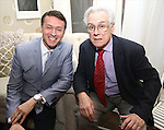 Andrew Lippa and Jeffrey Lyons during The DGF's 14th Biannual Madge Evans & Sidney Kingsley Awards at the Dramatists Guild Fund headquarters on April 4, 2016 in New York City.