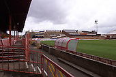West paddock view towards the Kop......© Phill Heywood.tel 07806 775649