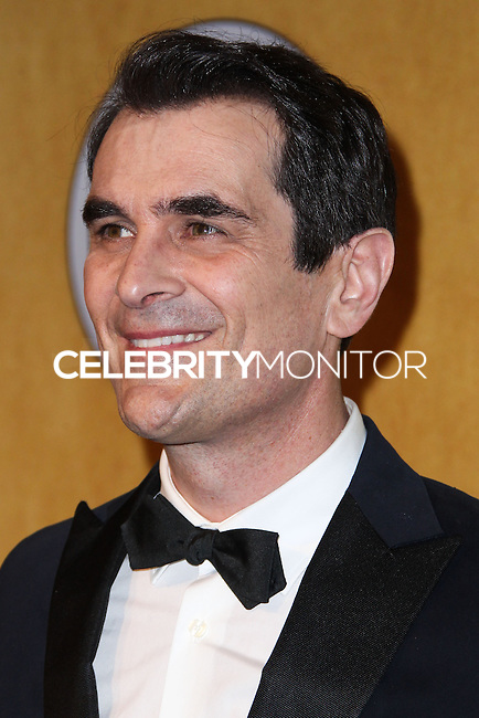 LOS ANGELES, CA - JANUARY 18: Ty Burrell in the press room at the 20th Annual Screen Actors Guild Awards held at The Shrine Auditorium on January 18, 2014 in Los Angeles, California. (Photo by Xavier Collin/Celebrity Monitor)