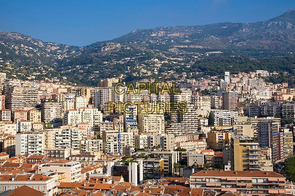 Tower blocks, Monte Carlo, Monaco, France