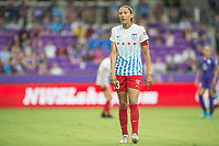 Orlando, FL - Saturday July 01, 2017: Christen Press during a regular season National Women's Soccer League (NWSL) match between the Orlando Pride and the Chicago Red Stars at Orlando City Stadium.