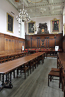 Clare College, Cambridge - The Great Hall.Cambridge, U.K - A variety of scenes at the historic university city of Cambridge, England -  September 2nd 2012..Photo by Keith Mayhew