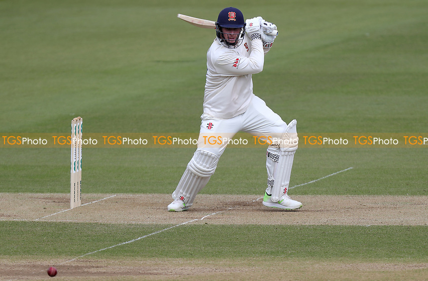 Simon Harmer of Essex in batting action during Surrey CCC vs Essex CCC, Specsavers County Championship Division 1 Cricket at the Kia Oval on 13th April 2019