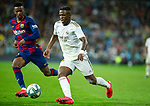 Real Madrid CF's Vinicius Jr seen in action during La Liga match. Mar 01, 2020. (ALTERPHOTOS/Manu R.B.)