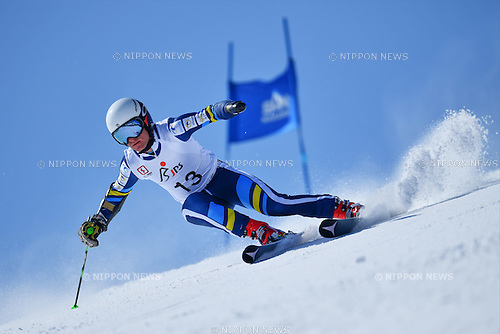 Mitchell Gourley (AUS), <br /> MARCH 5, 2017 - Alpine Skiing :<br /> IPC Alpine World Cup Hakuba,<br /> Men's Giant Slalom <br /> Standing LW6/8-2 <br /> at Hakuba Happo One, Nagano Japan.<br /> (Photo by AFLO SPORT)