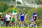 Micheal Regan Kilmoyley scores his teams second goal against Saint Brendan's in the County Senior Hurling Final at Abbeydorney on Sunday.